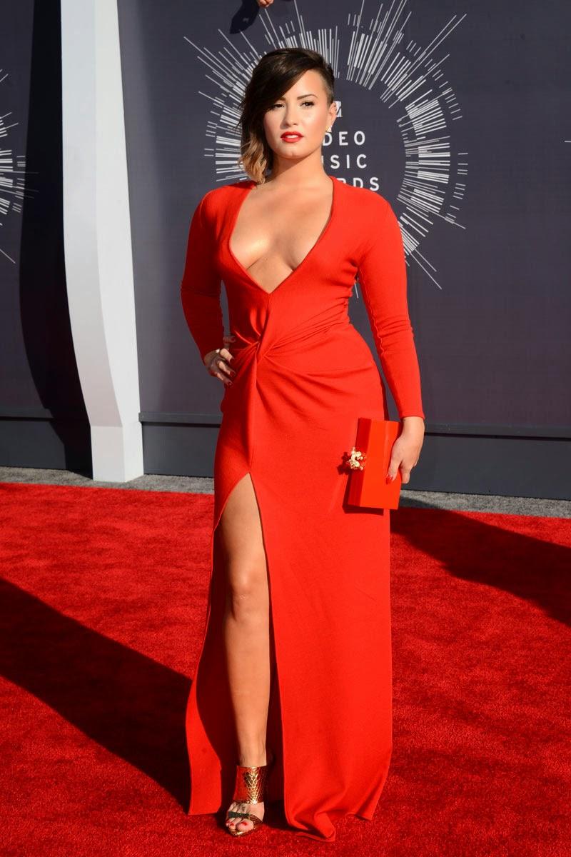 Demi Lovato MTV MVA 2014