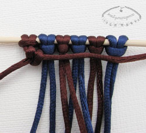 węzeł rypsowy - makrama - 10