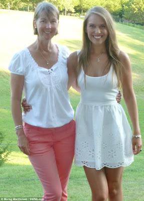 amy y su madre con tumor