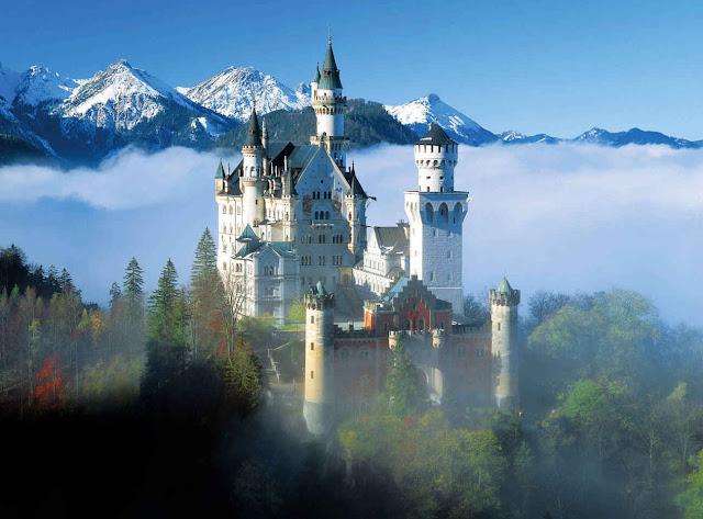 Σαν παραμύθι...Κάστρο Neuschwanstein - Βαυαρία.
