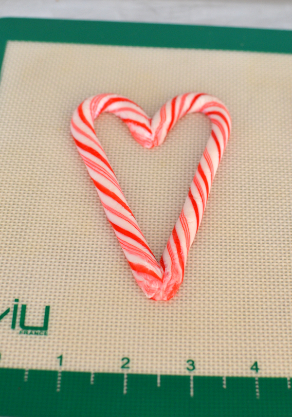 valentine candy cane hearts