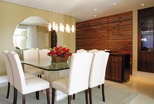 Armario Planejado De Vidro ~ Meu Cantinho Decorado Ambientes Sala de Jantar