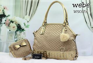 Tas KW Webe Blesy 2in1 Semi Premium W5017AR Jakarta
