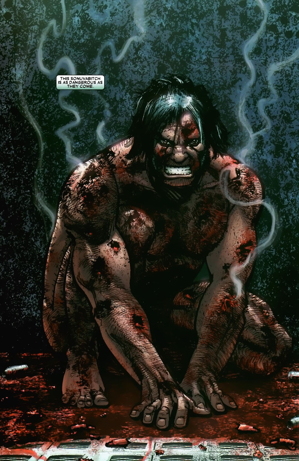 Read online Wolverine (2003) comic -  Issue #56 - 8