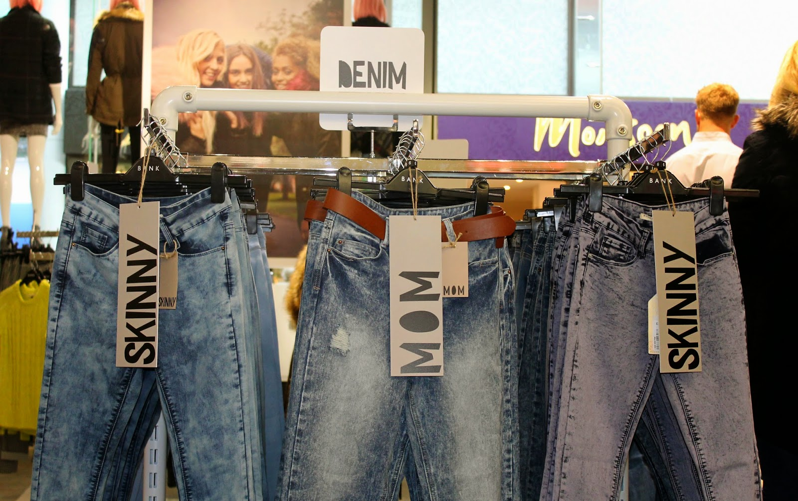 BANK fashion warrington denim
