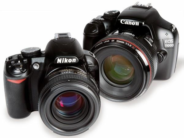 Canon vs Nikon, Nikon vs Canon, Nikon DSLR vs Canon DSLR, Nikon DSLR camera, Canon DSLR camera
