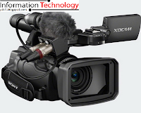 Sony PMW-100, Camcorder Smallest and Lightest class XDCAM