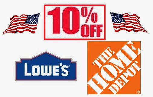 bb3df3c082f Discounts   Deals 4 Military  Home Improvement Stores (Lowe s   Home ...