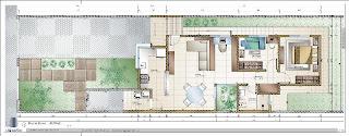 Planta Baixa Casa 70m2, feita no autocad2012