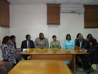 Comisión de Salud de la Cámara de Diputados visitó el barrio Blanco  para conocer cuál es su situación, ante el brote de Cólera
