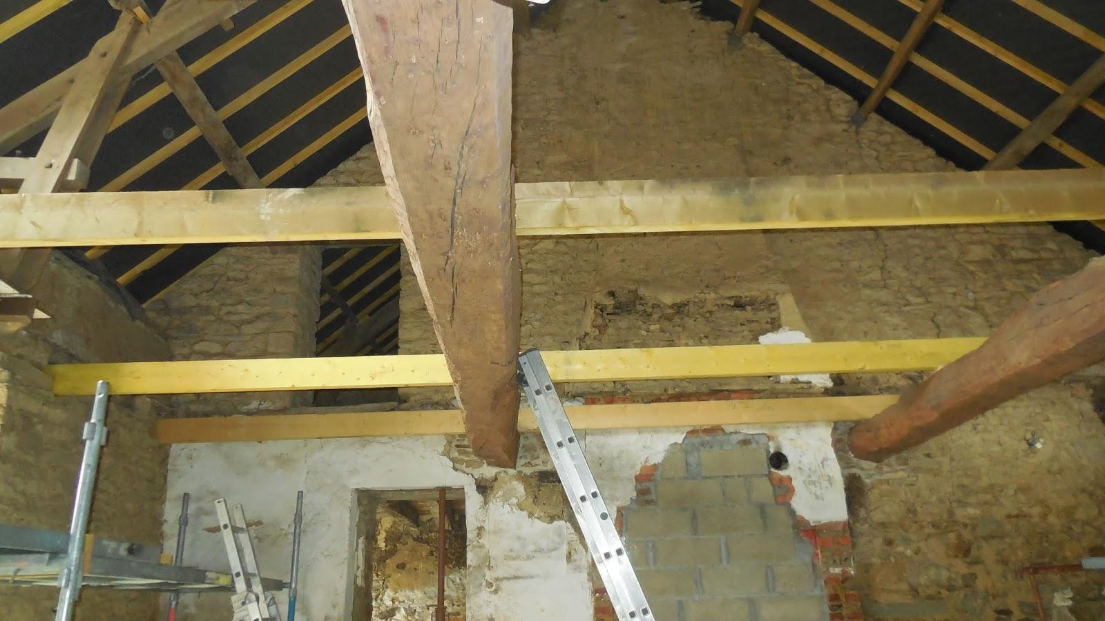 r novation d 39 une long re phase 5 remise niveau du plancher de l 39 tage. Black Bedroom Furniture Sets. Home Design Ideas