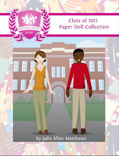 Paper Doll School Paper Doll Yearbook 2012