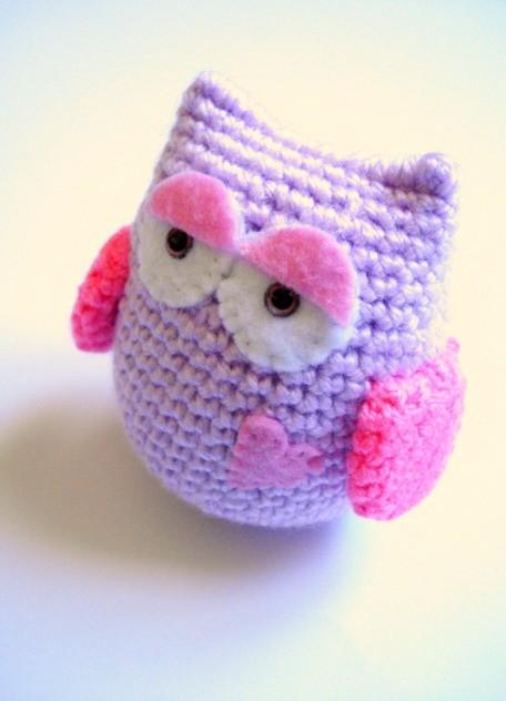 Crochet Amigurumi : Lilac+Crochet+Amigurumi+Owl.jpg