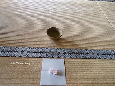 Tea ceremony at the Jikoin Zen Temple, Nara - Japan