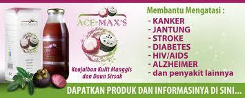 ACE-MAX'S: Jus Kulit Manggis dan Daun Sirsak