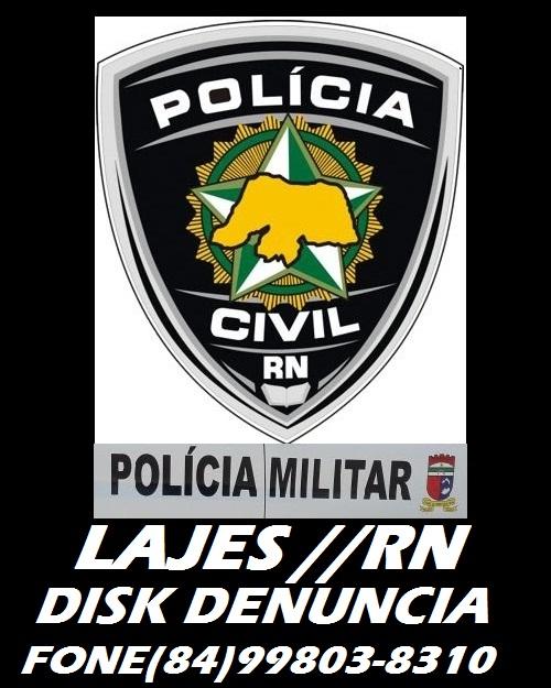 POLICIA DE LAJES RN