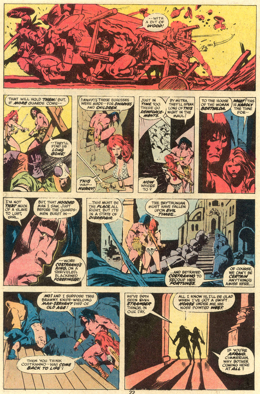 Conan the Barbarian (1970) Issue #78 #90 - English 13