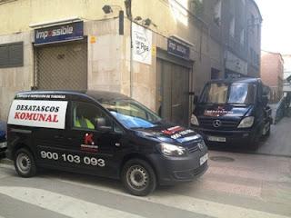 Limpieza de bajantes en Barcelona