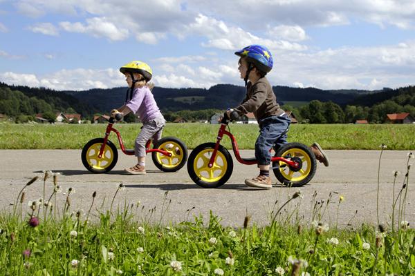 Bicicletas de equilibrio sin pedales para niños