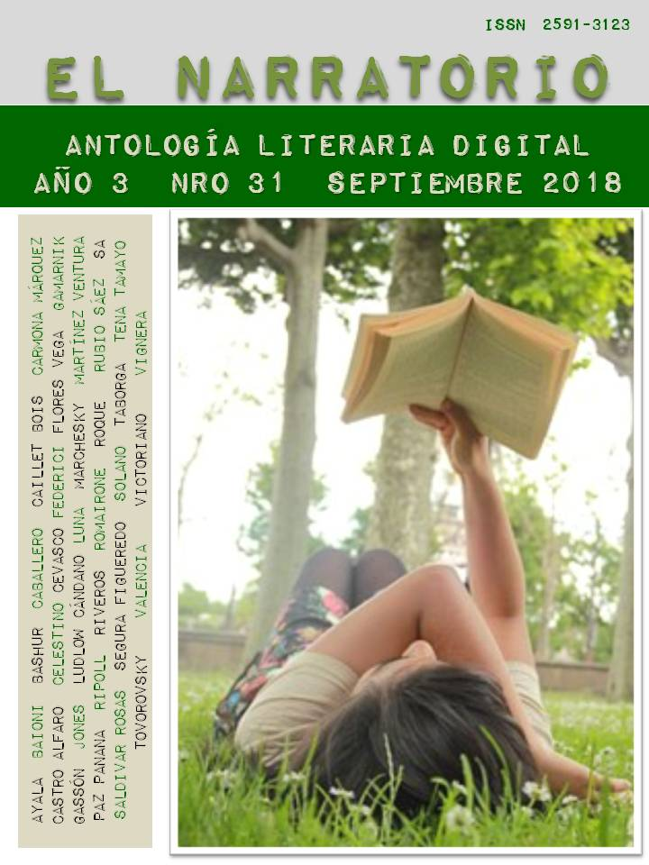 EL NARRATORIO  ANTOLOGÍA LITERARIA DIGITAL NRO 31