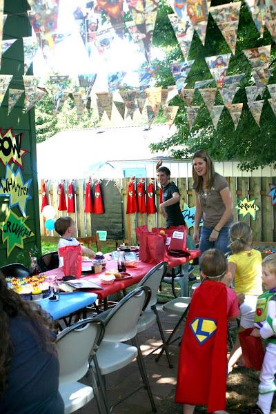 superhero party villian game activity