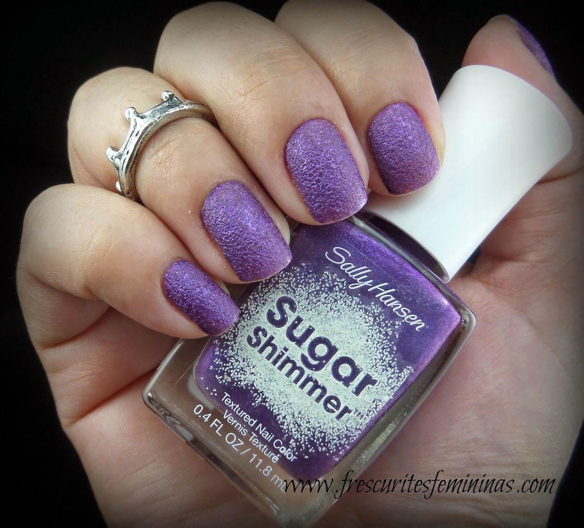 Sugar Shimmer, Gummy Grape, Sally Hansen, Frescurites Femininas, Sand Nail Polish