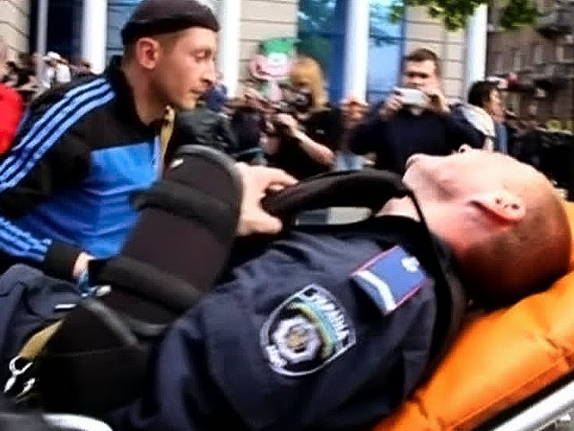 Боевики правого сектора в Одессе