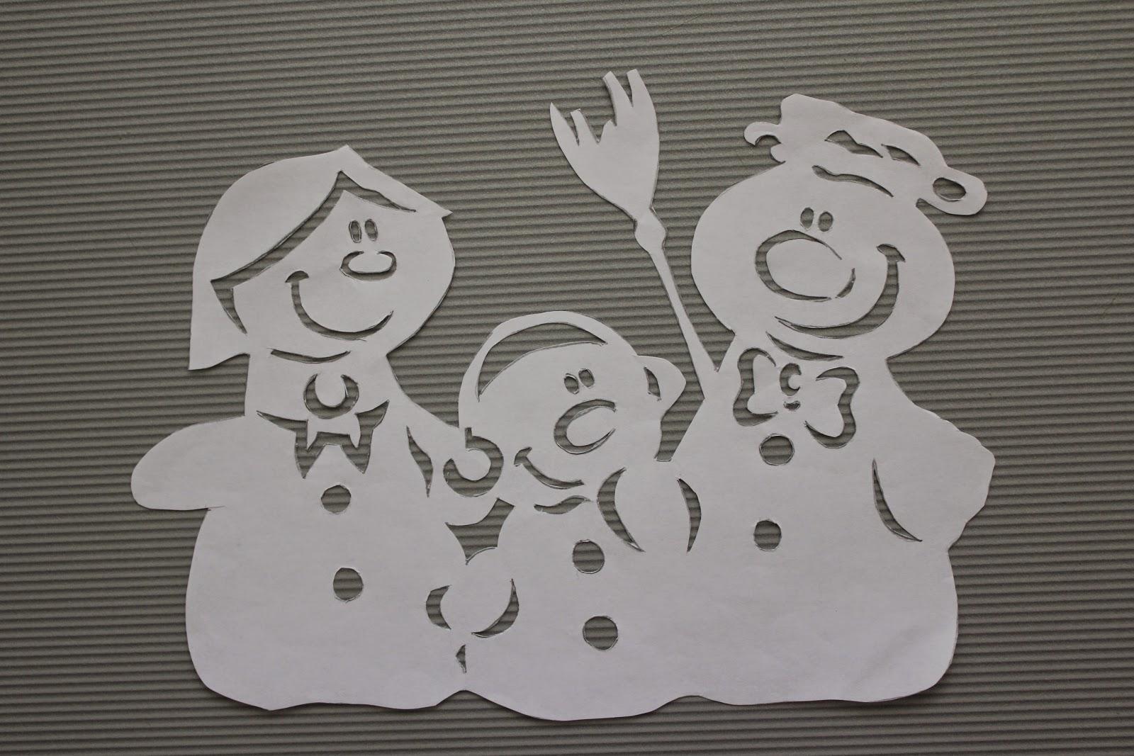 трафарет новогодней игрушки из бумаги собрать и склеить