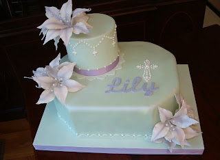 Cake2cake lily 39 s first holy communion for 1st holy communion cake decoration ideas