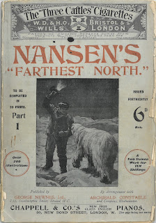 Cover to part 1 of Nansen's Farthest North
