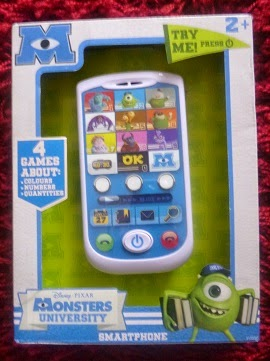 Yorkshire Blog, Mummy Blogging, Parent Blog, Phone, Monsters University Mike and Sulley's Smartphone, KD UK, KD Mumbassador, Review,