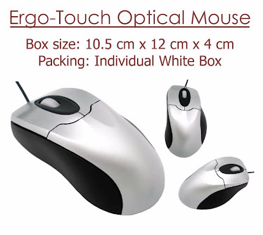 CENTRUM LINK - ERGO-TOUCH OPTICAL MOUSE