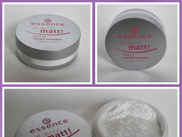 essence all about matt! fixing loose powder review