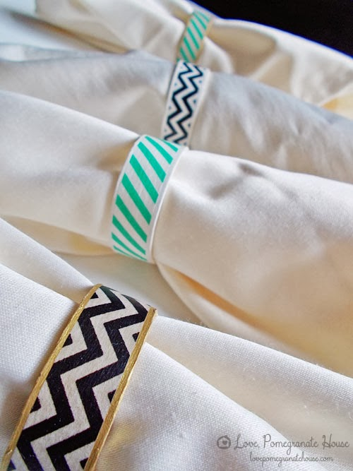 http://www.lovepomegranatehouse.com/washi-tape-napkin-rings/