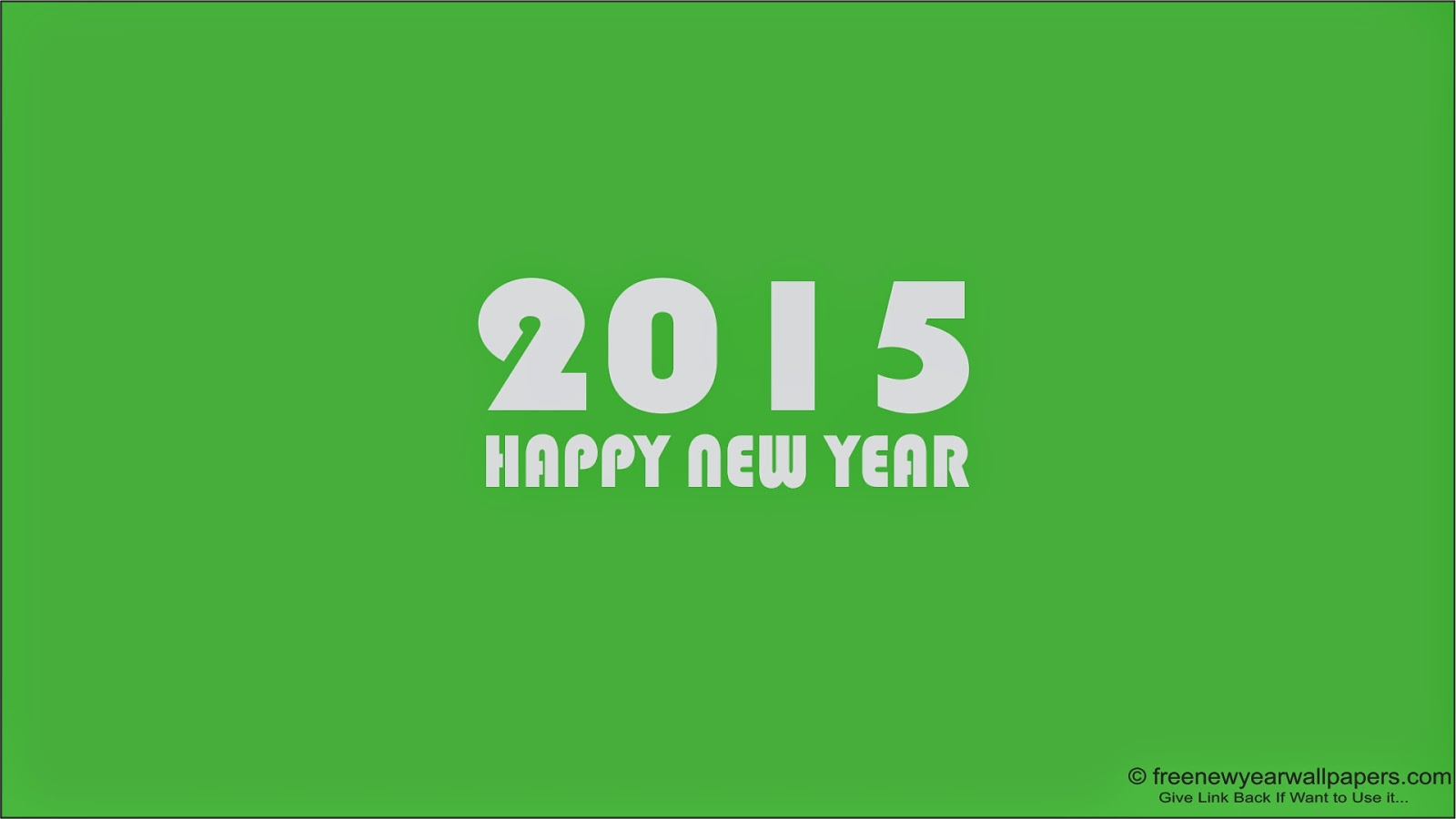 Wallpaper Happy New Year 2015