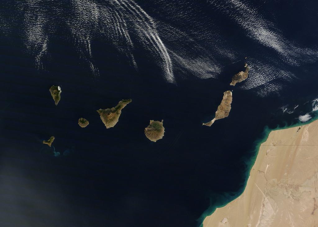 volcan isla canaria: