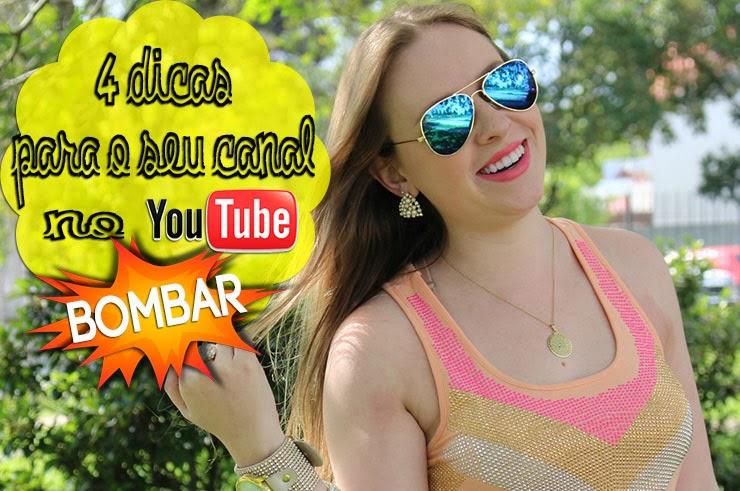 dicas para o youtube