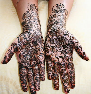 Mehandi Design for Hands
