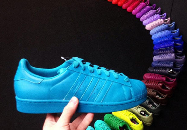 LEO KLEIN - ADIDAS SUPERCOLOR BY PHARRELL