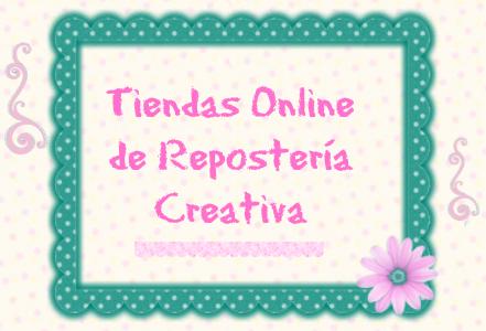 Tiendas online de reposteria creativa