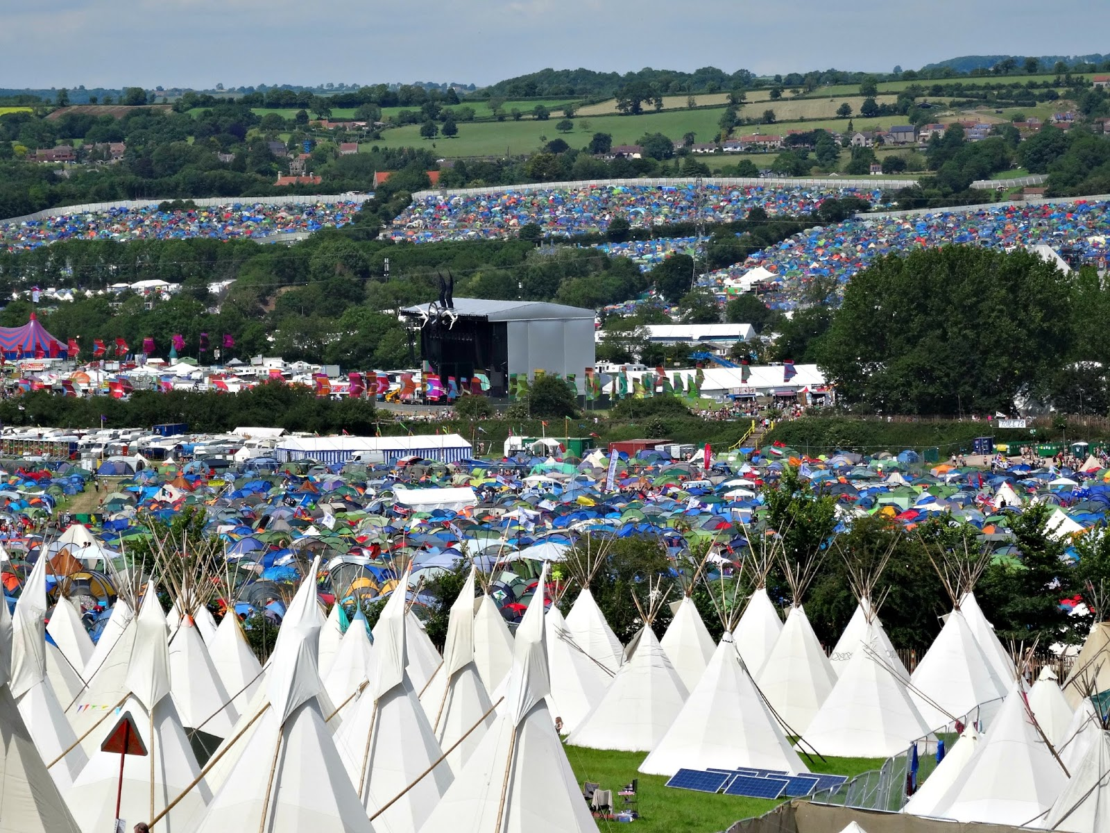 Glastonbury stages