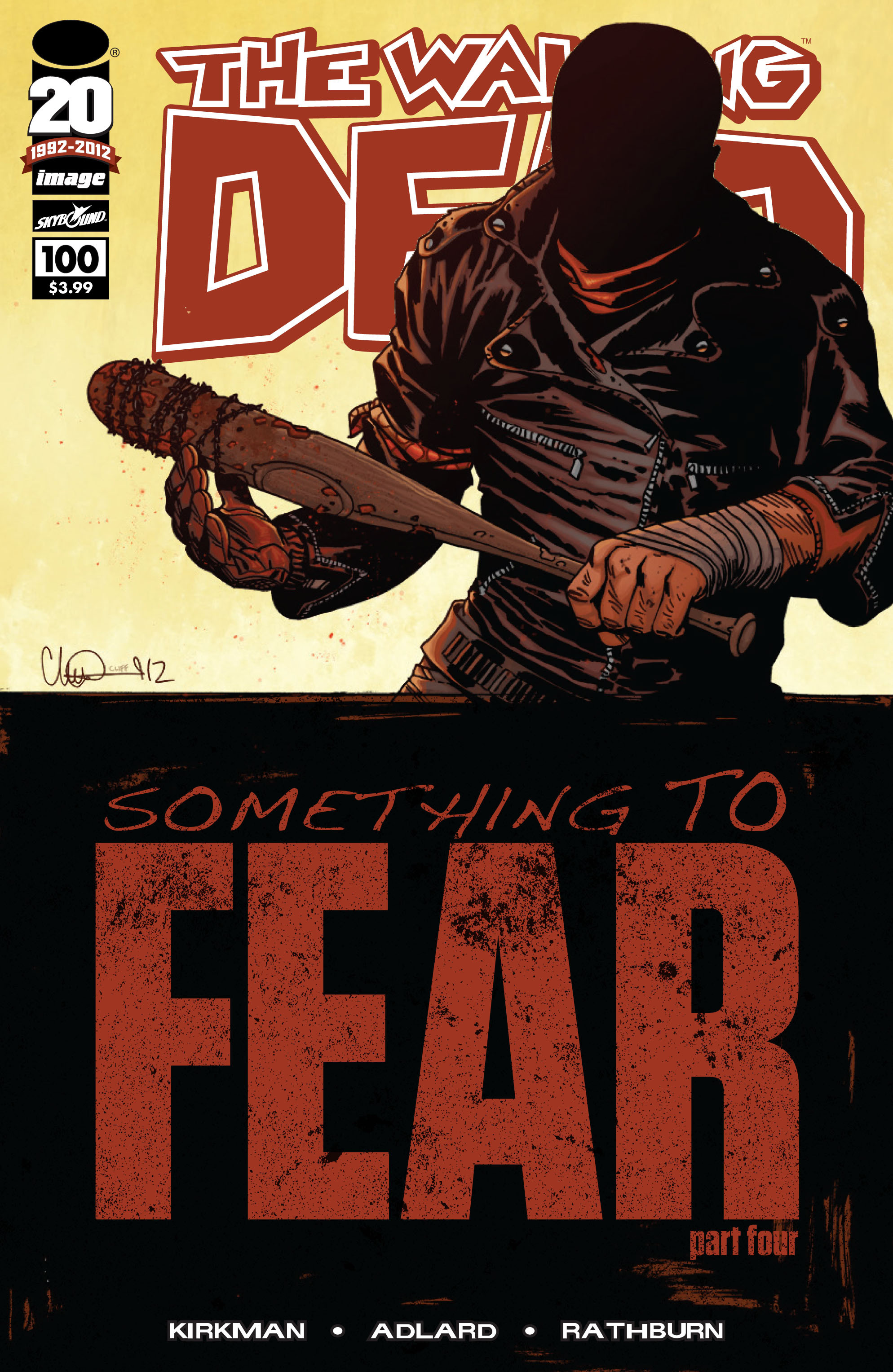 The Walking Dead Issue #100 Page 1