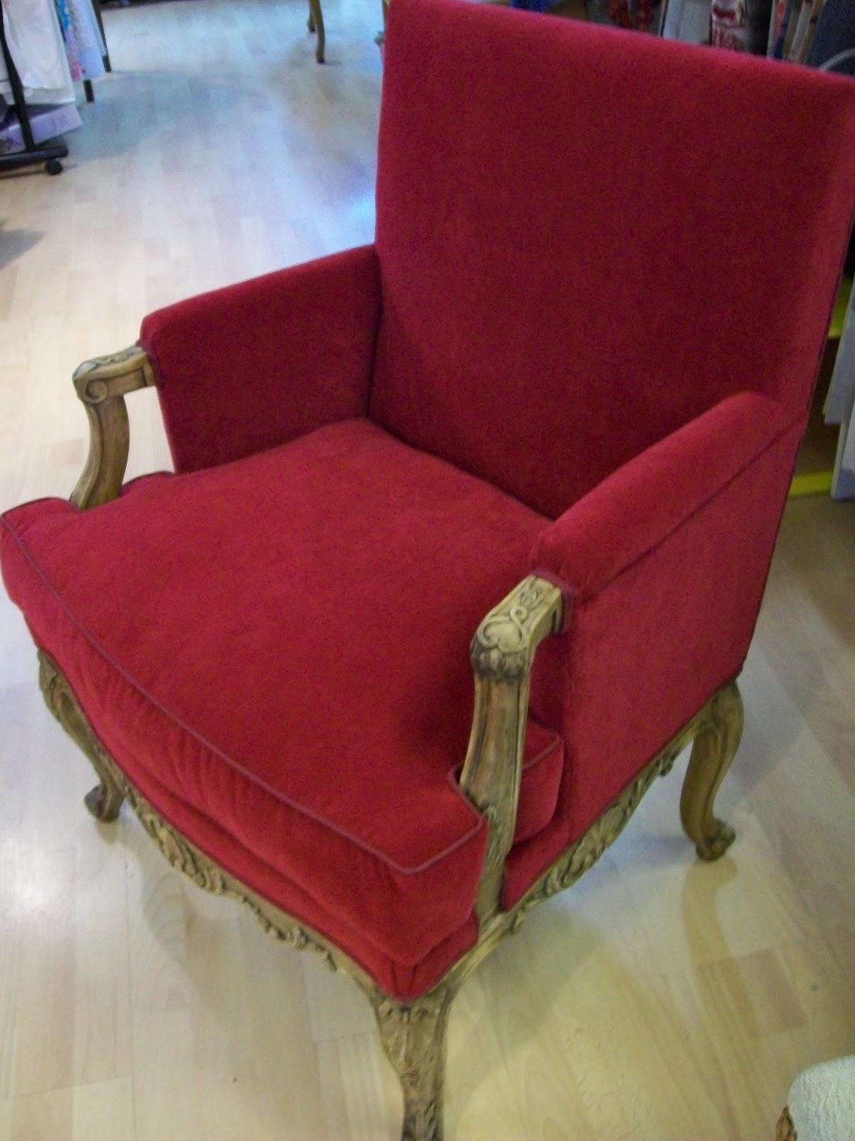 L 39 fauteuil berg re a coussin for Housse de fauteuil bergere