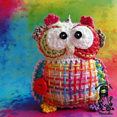 owl, crochet, Vendulka