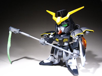 SD Gundam Deathscythe review