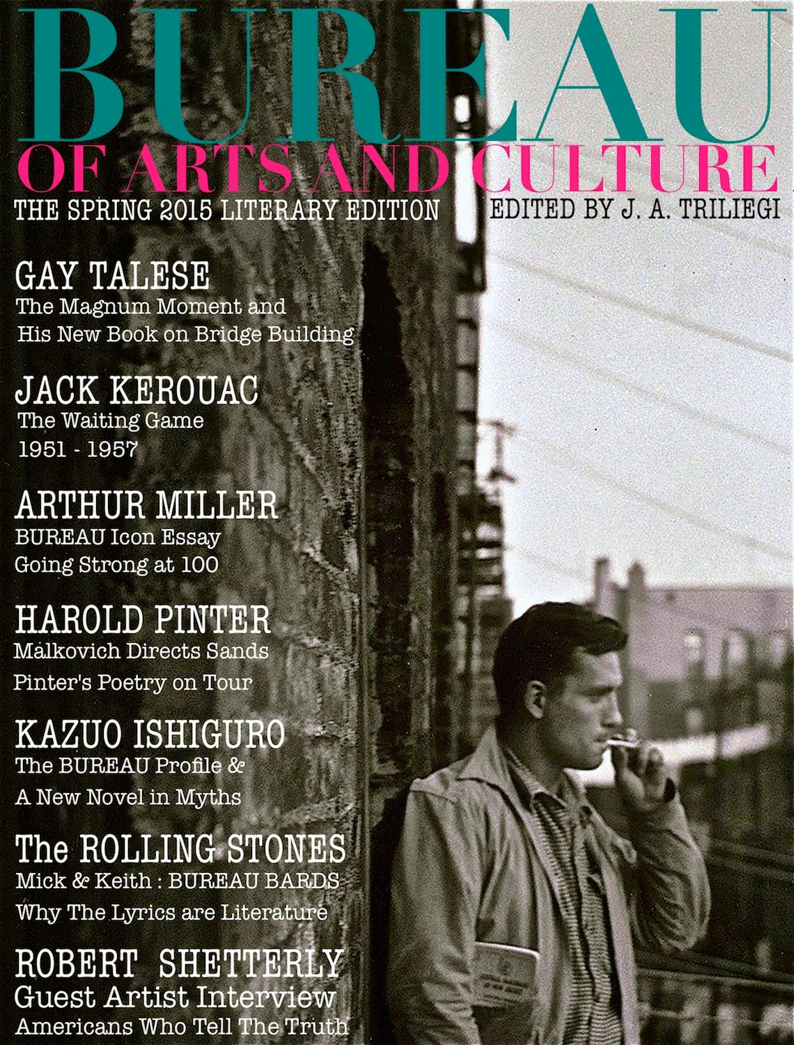 SPRING 2015 LITERARY Edition of BUREAU of ARTS and CULTURE MAGAZINE