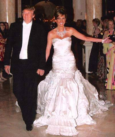 donald trump wife melania age. donald trump wife wedding
