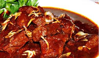 Resep dan cara membuat Semur Daging Pedas