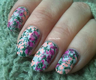 Apipila Super Plate B with Nails Inc Madison Avenue and Virtuous Polishes Mercy Seat and Ruth