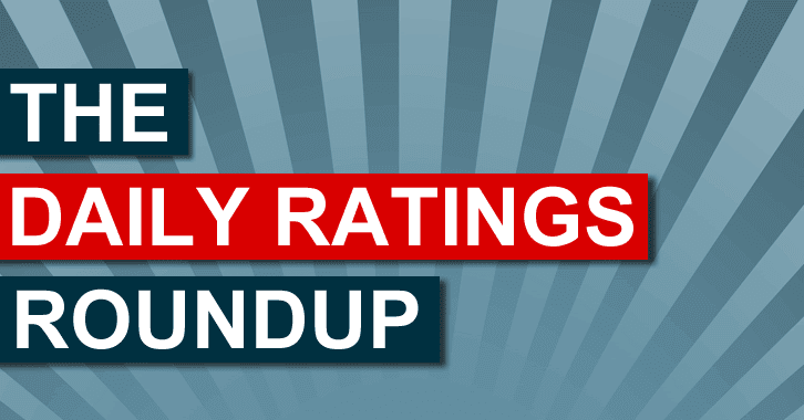 Ratings News - 14th October 2014
